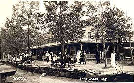 In 1901 Mr Swett Opened His Theater With The Slogan Bringing Broadway To Maine Was Added A Fine Restaurant And Motor Lodge